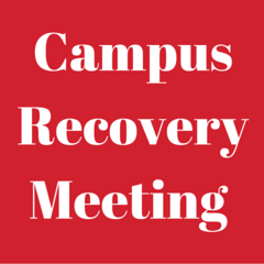 Campus Recovery Meeting